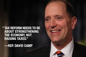 Congressman David Camp's Tax Reform Plan