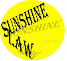 "Should Florida's ""Sunshine Law"" be Changed?"