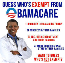 Congress and the Obamacare Exemption