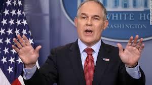 """Scott Pruitt """"Downsizing"""" and Redirecting the EPA"""