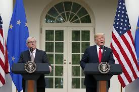 President Trump, Tariffs, and the European Union Trade Deal